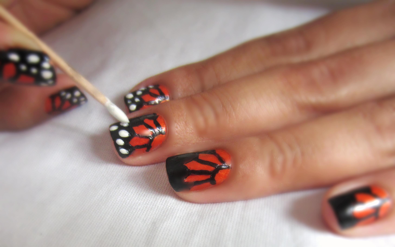 Nail Art At Home Toothpick Nailarts Ideas